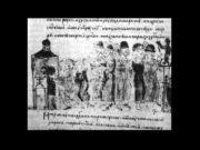 Игорь с язычниками идет на роту к идолу