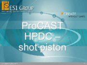Pro CAST HPDC shot piston 1