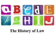 The History of Law Plan