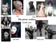 hair Makeup Style/Light Pose inspiration The pretty reckless