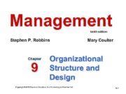 Management tenth edition Stephen P Robbins Chapter 9