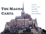 The Magna Carta work written students 101 group