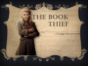 The book thief «Courage beyond words» The book