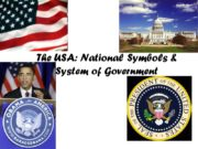 The USA: National Symbols & System of Government