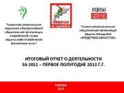 Тюменское региональное отделение общероссийской общественной организации потребителей Союз