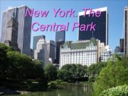 New York. The Central Park Central Park is