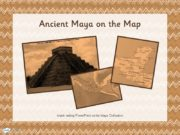 A task setting PowerPoint on the Maya Civilisation