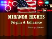 MIRANDA RIGHTS Origins & Influence Herman Y. Derbushev