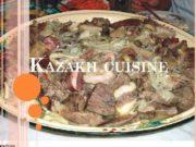 KAZAKH CUISINE Kazakh cuisine Milk products Meat