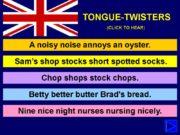 A noisy noise annoys an oyster. Nine nice