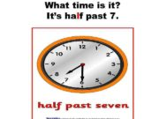 What time is it It s half past 7