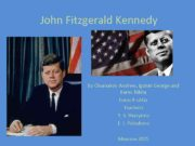 John Fitzgerald Kennedy by Chumakov Andrew Igonin George