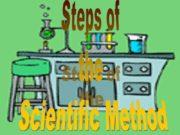 Steps of the Scientific Method The Scientific Method