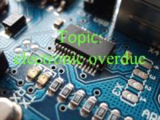 Topic: electronic overdue The electronic device (ED) —
