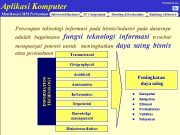 Aplikasi Komputer Farida Hermana Matrikulasi MM Perbankan Software Business
