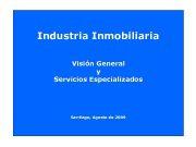 Industria Inmobiliaria Visión General y Servicios Especializados Santiago