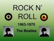 ROCK N' ROLL 1963-1970 The Beatles The Beatles