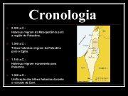 Cronologia n 2 000 a C Hebreus