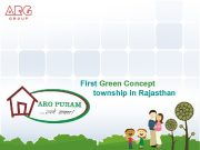 First Green Concept township in Rajasthan Away