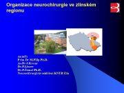 Organizace neurochirurgie ve zlínském regionu Autoři Prim Dr