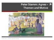 Peter Stamm: Agnes – Themen und Motive Andreas