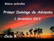 Música sefardita Primer Domingo de Adviento 1 Diciembre