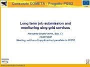 Consorzio COMETA — Progetto PI 2 S 2