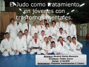 El Judo como tratamiento en jóvenes con El