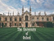The University of Oxford Oxford is a unique