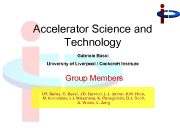 Accelerator Science and Technology Gabriele Bassi University of