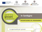 In Sardegna PRESENTAZIONE DEL PROGRAMMA Le opportunità per