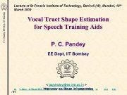 P C Pandey EE Dept IIT Bombay Lecture
