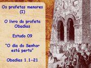 Os profetas menores I O livro do profeta