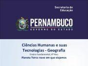 Ciências Humanas e suas Tecnologias — Geografia Ensino