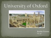 University of Oxford Bozhko Victoria Gr. 32 The