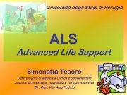 Università degli Studi di Perugia ALS Advanced Life