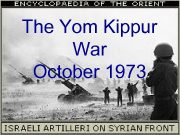 The Yom Kippur War October 1973 Yom