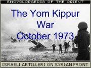 The Yom Kippur War October 1973 Yom