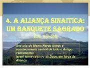 4 A ALIANÇA SINAITICA UM BANQUETE SAGRADO e