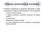 Uniunea economică şi monetară l Uniunea economică şi