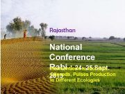 Rajasthan National Conference Rabi 24 — 25