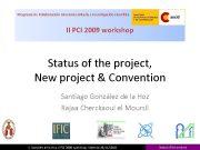 Programa de Colaboración Interuniversitaria e Investigación científica II