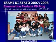 ESAMI DI STATO 2007 2008 Sammartino Floriana VB Prog