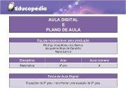 AULA DIGITAL E PLANO DE AULA Equipe responsável