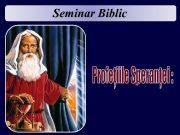 Seminar Biblic 17 Pregătit pentru timpul sfârsitului