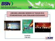 UNDANG-UNDANG NOMOR 20 TAHUN 2014 — STANDARDISASI DAN