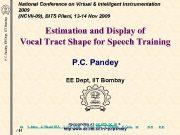P C Pandey EE Dept IIT Bombay National