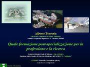 Alberto Torresin Struttura Complessa di Fisica Sanitaria Azienda