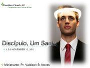 LOGO Discípulo Um Santo v LC 6 NOVEMBER
