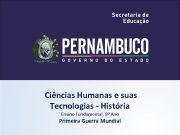 Ciências Humanas e suas Tecnologias — História Ensino